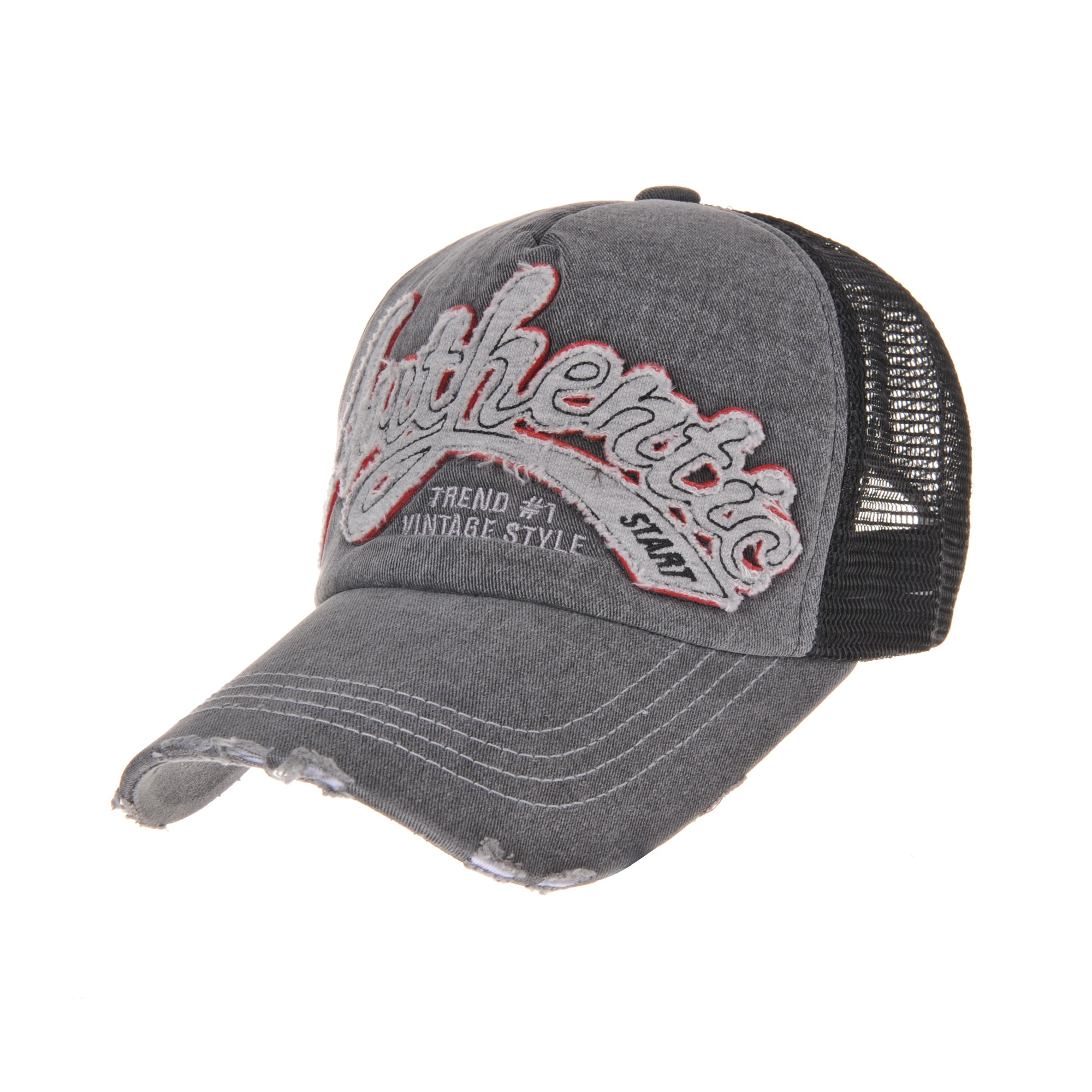 Casquette  usee vieillie Howel/'s Cap 5 Colors Distressed Meshed Trucker cap